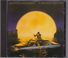 Jackson Browne - Lawyers In Love - CD (West German Target Asylum 9 60268-2)