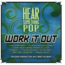 HEAR SOMETHING POP Work It Out (NEW CD) Britney Spears*Chris Brown*Ciara*Amerie