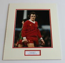 PHIL NEAL Liverpool Genuine HAND SIGNED Autograph Photo Mount Display + COA