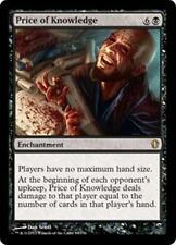PRICE OF KNOWLEDGE Commander 2013 MTG Black Enchantment RARE