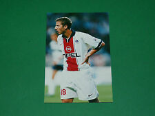 PHOTO CARTE FLORIAN MAURICE PARIS SAINT-GERMAIN PSG 1997 1998