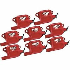 MSD Ignition 82878 Pro Power Coil For LS2/LS3/LS7/LS9 Engines, 8-Pack
