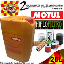 20L MOTUL OUTBOARD TECH 10W40 OIL HIFLO HF556 FILTER CHANGE SEADOO GTI 4TEC 2007