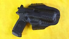 HOLSTER BLACK CARBON KYDEX FNX-45 Tactical FN FNX 45 OWB