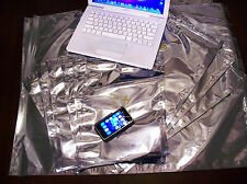 EMP Shield Faraday Cage ESD Bags - 11 Pieces. Extra Large Sizes - EMP Protection