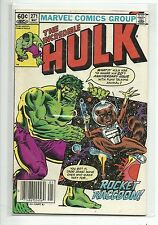 (1968 SERIES) MARVEL THE INCREDIBLE HULK #271 2ND APP ROCKET RACCOON - FN