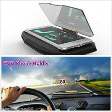 New Design Vehicle HUD Head Up Display Navigation GPS Mobile Phone Mount Bracket