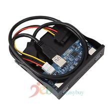 2 Port USB 3.1 Type C USB 3.0 A HUB to 20Pin Header Front Panel Floppy Disk New