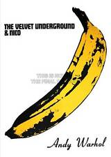 VELVET UNDERGROUND BANANA ANDY WARHOL A3 ART PRINT POSTER GZ5552