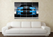Grandi FORD MUSTANG V8 American Muscle Modified CAR WALL POSTER Arte Stampa Quadro