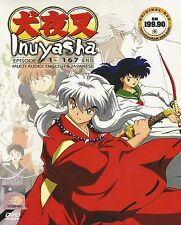 Anime Inuyasha Ep. 1-167 End Complete ENGLISH VERSION DVD Box Set