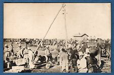 Carte Photo STIRONI - Syrie Gazhalé prés Ezraa Le Camp Ete 1925