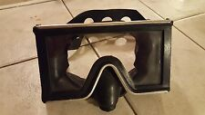 Vintage Mares Tacoma Made In Italy Tempered Glass Metal Scuba Mask Diving Black