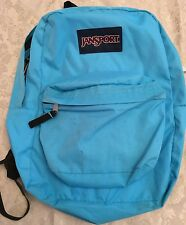 JanSport Student Backpack Book Bag School Hiking Blue Daypack Laptop Gym 16""