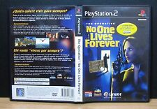 THE OPERATIVE NO ONE LIVES FOREVER  PS2 - PlayStation 2 - PAL - Italiano - Usato