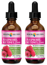 Raspberry Ketones Lean - All Natural Weight Loss Drops - Fast Absorbing - 2B