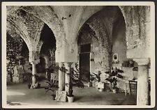 AD3266 Salerno - Provincia - Ravello - Giardino Rufolo - Antica sala da pranzo