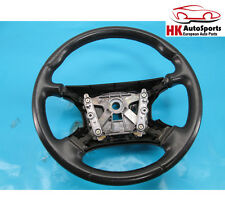 JAGUAR VANDEN PLAS XJ8 STEERING WHEEL BLACK HJB9181BB FACTORY OEM 98-00 01 02 03