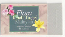 (MMS065) MALAYSIA 1997 Highland Flowers Stamp Booklet 10 stamps MNH