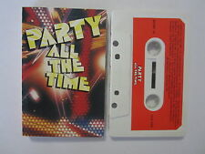 VARIOUS ARTISTS PARTY ALL THE TIME NEW ZEALAND 1986 RELEASE CASSETTE TAPE