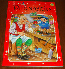 PINOCCHIO BOOK 16 PAGE COLORFUL PICTURES (BRAND NEW)
