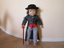 6-pc WILD WEST WESTERN OUTFIT includes Derby Hat American Girl - Very Detailed!!