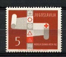 Yugoslavia 1962 SG#1042 Obligatory Tax Red Cross MNH #A33195