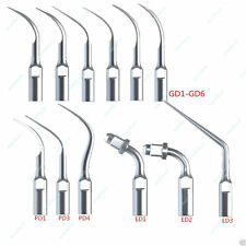 12 pc Dentista Tips INSERTI PUNTE PER ABLATORE Scaler Satelec DTE