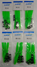 Gemfan Green 5 X 4.5 5045 ABS CCW Quadcopter Propellers - 24 Props 12 Pair
