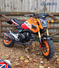 Honda MSX125 GROM Tail Tidy 2016 on  Fender Eliminator. OEM or Micro Signals.