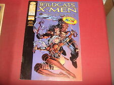 WILDCATS VS. X-MEN : GOLDEN AGE  #1  3-D Variant  Image Marvel Comics NM-