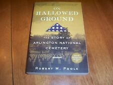 ON HALLOWED GROUND Arlington National Cemetery Military Army Navy Marines Book