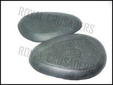 BSA B31 NEW RUBBER KNEE PADS (CODE554)