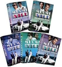 Miami Vice: The Complete Series (DVD, 2007, 5 Individual Boxed Sets) NEW!
