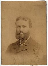 LARGE CABINET PHOTOGRAPH Elliott Burris DAMES BUTLER San Francisco 1884 Photo