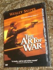 The Art of War (DVD, 2000), NEW & SEALED, WIDESCREEN, REGION 1, WESLEY SNIPES