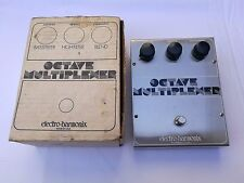 VINTAGE ELECTRO HARMONIX OCTAVE MULTIPLEXER  - FREE NEXT DELIVERY DAY IN THE UK
