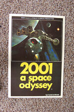 2001 A Space Odyssey Lobby Card Movie Poster #2