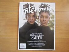 Interview Magazine September 2016 Issue Jaden & Willow Smith New.