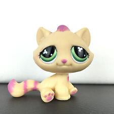 Authentic Littlest Petshop 777 Tabby Cat Kitty / Chat De Gouttière Hasbro LPS