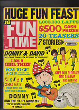 16 Fun Time February 1973 Donny Osmond David Cassidy Bobby Sherman