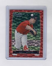 Austin Maddox 2012 Bowman Draft Red Ice Rc #1/25 Red Sox