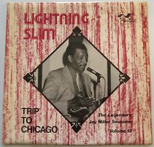 LIGHTNING SLIM - TRIP TO CHICAGO LP FLYRIGHT Blues Jay Miller Sessions Vol. 12