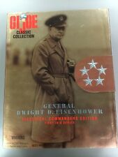 "GI JOE CLASSIC COLLECTION GENERAL DWIGHT D. EISENHOWER 12"" ACTION FIGURE 1/6 WW2"