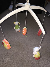 MAMAS AND PAPAS BABY COT MOBILE MUSICAL MOUSE IMMACULATE