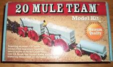 2007 re-release MODEL KIT of the BORAX 20 MULE TEAM - 1:67 / HO Scale