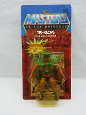 MOTU,VINTAGE,TRI-KLOPS,Masters of the Universe,MOC,carded,sealed,figure,He-Man ^