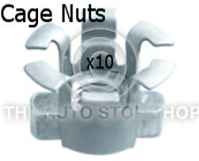 M8 Metal Cage Nuts Renault Range: Megane Range Part Number: 141re Pack of 10