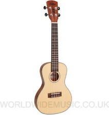 Vintage LAKA VUC85 Slim Body Concert Acoustic Ukulele - Spalted Maple  Brand New