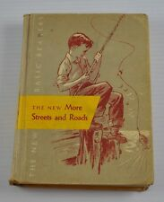 The New Basic Readers More Streets And Roads 1956 Ex Lib Hardcover   BB6B11